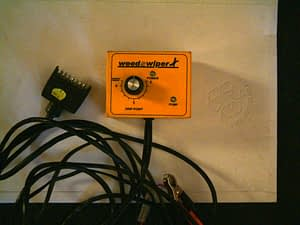 Edlington WeedSwiper Hydrostat Box Single Channel
