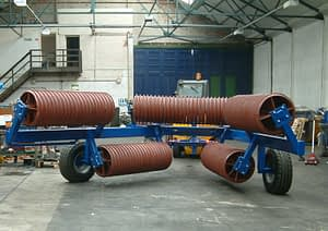 Edlington 9.2m Fold Back Cambridge Roll - Second Part of Moving into Transport