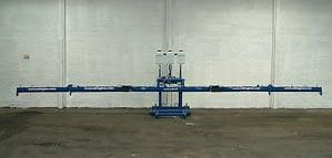 Edlington 9.4m WeedSwiper in working position