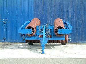 Edlington 6.5m Fold Back Cambridge roller