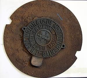 Edlington Mower Name Plate