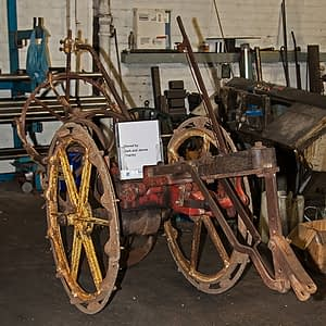 Edlington Potato Digger - owned by Mr M Chantry