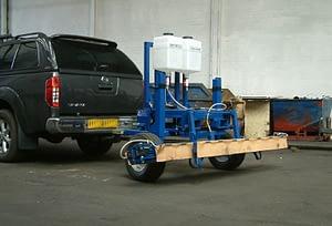 Edlington Tractor Mounted Trailed WeedSwiper