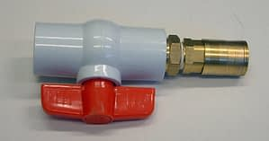 Edlington WeedSwiper Tank Tap Assembly (inc Quick Release Coupling)